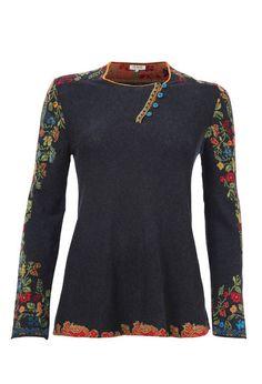 Pullover Intarsia Pattern - Pullover | Ivko Woman