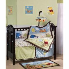 Baby Crib Toys In Winnie The Pooh Bedding Was Initiated A
