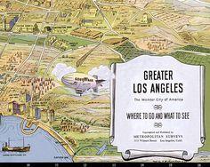 Treasure Map Wallpaper A Delightful Childrens Wallpaper Featuring - Los angeles map wallpaper
