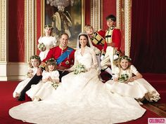 Great picture with all the children (we did the same thing on our wedding day!)