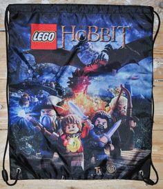 LEGO The Hobbit - Drawstring Swimming Bag, Brand New