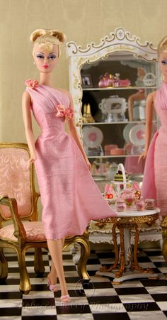 """""""Pink Ladies Have Tea 2"""" by Rebecca (think_pink1265) 