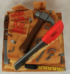 Carpentry retirement cake!! :-) | Pauls Creative Cakes | Flickr