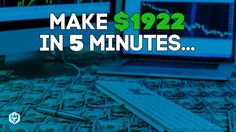Learn to Day Trade and make $1,922 in 5min Stock Options, Learning, Day, Youtube, How To Make, Studying, Teaching, Youtubers, Youtube Movies
