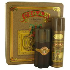 CIGAR by Remy Latour Gift Set -- 3.3 oz Eau De Toilette Spray + 6.6 oz Deodorant - Beauty N Fashion & More
