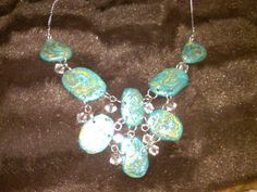 Turquoise bib necklace- Purchase for $34.00 + $6.00 S&H via Paypal with sdowen01@gmail.com