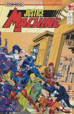 Justice Machine (1987 Comico/Innovation) 1