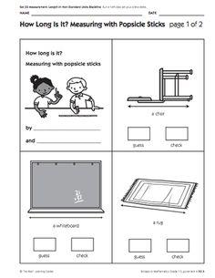 21 best nonstandard measurement images in 2017 nonstandard measurement teaching math 1st. Black Bedroom Furniture Sets. Home Design Ideas