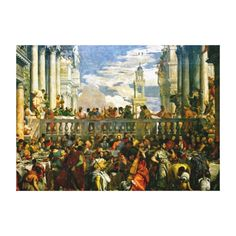 Veronese - The Wedding at Cana Canvas Print