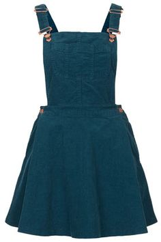 MOTO Teal Cord Pini Dress (£42.00) - Svpply