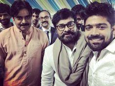 Viral Pic: Pawan Kalyan And Chiranjeevi Selfie
