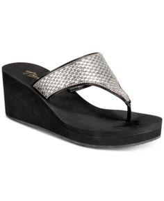 c3c1c23214a6 Thalia Sodi Elenia Wedge Flip-Flop Sandals