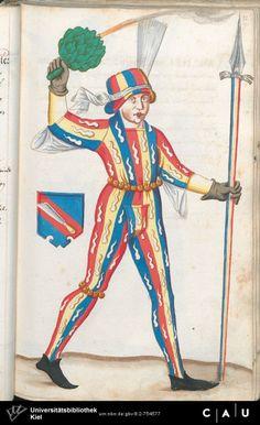Nürnberger Schembart-Buch Erscheinungsjahr: 16XX  Cod. ms. KB 395  Folio 94