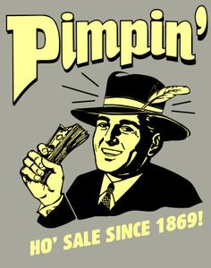 A Vintage Pimp! Hahaha this is awesome.