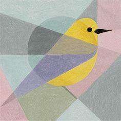 Geometric Birds par Samy Halim