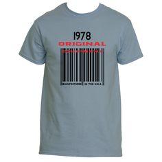 1978 Barcode Ultra Cotton® T shirt designs | Underground Statements
