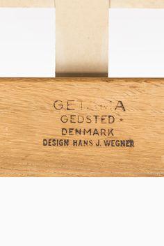 Hans Wegner GE-375 easy chairs by Getama at Studio Schalling