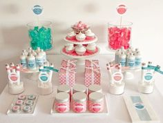 """Spa Candy"" + FREE Printable Labels.  What an amazing new online magazine - Nonpareil!  The online magazine is full of recipes for the bath salts, soaps, lip balms, and body scrubs, as well as printables for the display and packaging.  Start planning your Spa Party now!"