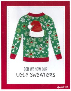 Another MFT Sweater Die card