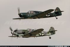 Bf-109 & Bf-108 formation
