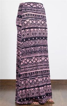 #DownEast Basics          #Skirt                    #Monochromatic #Print #Maxi #Skirt                  Monochromatic Print Maxi Skirt                                                http://www.seapai.com/product.aspx?PID=681478