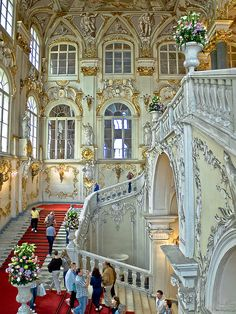 The Hermitage Museum, St. Petersburg, Russia.