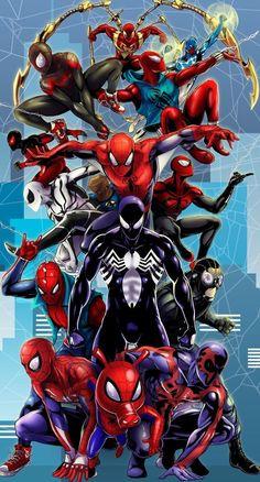 Venom Spidey Faces Spiderman Avengers Villain Comic Book Adult Tee Graphic T-Shirt for Men Tshirt Amazing Spiderman, All Spiderman, Spiderman Pictures, Hero Marvel, Marvel Art, Marvel Dc Comics, Marvel Avengers, Heros Film, Spiderman Kunst