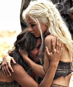 Daenerys & Irri (GoT Season 2)