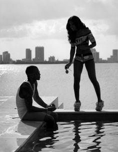 Kelly Rowland & Trey Songz! #KellyRowland #TreySongz #BlackAndWhite