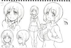 Manga Drawing, Manga Art, Anime Manga, Anime Art, Character Modeling, Character Art, Character Design, Learn To Draw Anime, Manga Tutorial