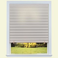 Redi Shade Natural Paper Light Filtering Pleated Shade - 36 in. W x 72 in. L (4-Pack)-1607255 - The Home Depot