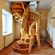 Home Discover love this staircase solid raw wood - Wood Design Wooden Stairs Log Furniture System Furniture Staircase Design Wood Staircase Spiral Staircases Staircase Ideas Staircase Architecture Small Space Staircase Wooden Stairs, Log Furniture, Furniture Reupholstery, System Furniture, Handmade Furniture, Staircase Design, Wood Staircase, Spiral Staircases, Staircase Ideas