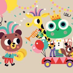 87 vind-ik-leuks, 2 reacties - Tiago Americo (@tiagoamericoillustration) op Instagram: 'Just realized I was drawing a Carnival scene during Carnival! What are the odds?? . . . .…'