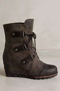 Sorel Joan of Arctic Wedge Boots - anthropologie.com