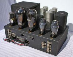GEC PX-25 valve tube amplifier 1935