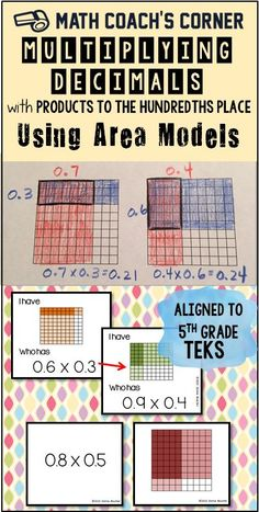 Pictorial representation help students develop an understanding of decimal multiplication