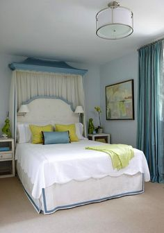 Chinoiserie blue and yellow bedroom I think I decided on soft blues and yellows for Faith. Fresh and something different
