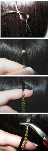 EASY TUTORIAL: How To Get The Look: Hair Feather Extensions #bstat