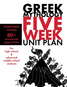 Use these FIVE FULL WEEKS of lesson plans as you take your students through the magic and scandals of Greek mythology. Help your students connect the themes of the classic tales to our modern world and their own lives. Beautifully designed, relevant activities will make the NEXT 25 DAYS of your class sparkle as students look forward to each day's adventure. Lots of challenging fun!