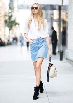Romee Strijd - Summer Outfit Idea 2017| Model Off-Duty