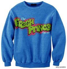 fresh prince crewneck