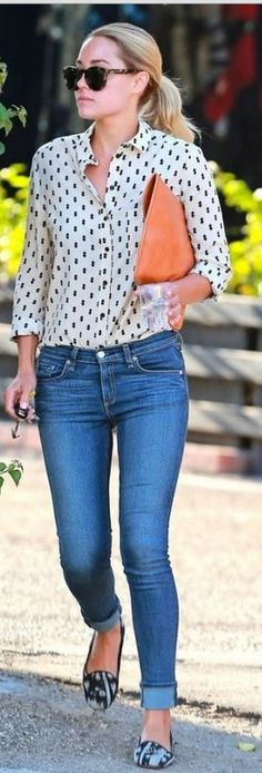 Who made Lauren Conrad's brown sunglasses and blue skinny jeans