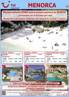 ¡Nuestra selección smart para Agosto! Menorca. Vuelo+Hotel 7 noches. Precio final desde 775€ ultimo minuto - http://zocotours.com/nuestra-seleccion-smart-para-agosto-menorca-vuelohotel-7-noches-precio-final-desde-775e-ultimo-minuto/
