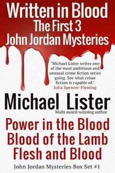 Written in Blood by Michael Lister