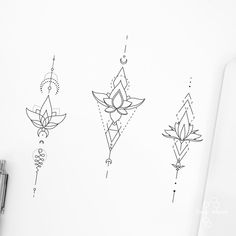 Ankle Tattoos For Women Mandala, Spine Tattoos For Women, Cute Tattoos For Women, Flower Wrist Tattoos, Dotwork Tattoo Mandala, Dna Tattoo, Sternum Tattoo Lotus, Baby Tattoos, Mini Tattoos