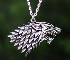 Direwolf necklace