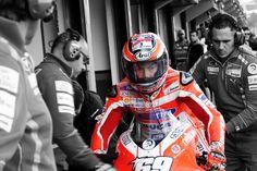 Ducati Moto GP Rider NICKY HAYDEN - EYE OF THE TIGER