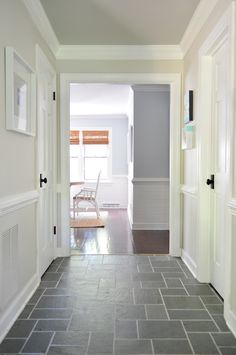 Young House Love House Tour { beautiful before/afters, love the wall/ceiling/trim colors }