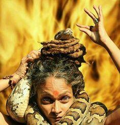 Naga and aghori sadhvi #Photography #India