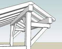 Afbeeldingsresultaat voor timberframe woodshed